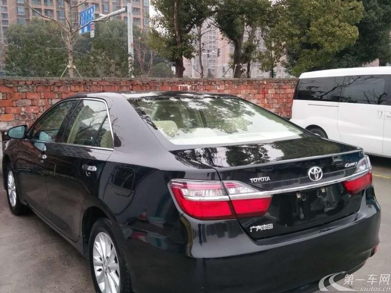 丰田凯美瑞 2016款 2.0L 自动 十周年豪华版 (国Ⅴ)