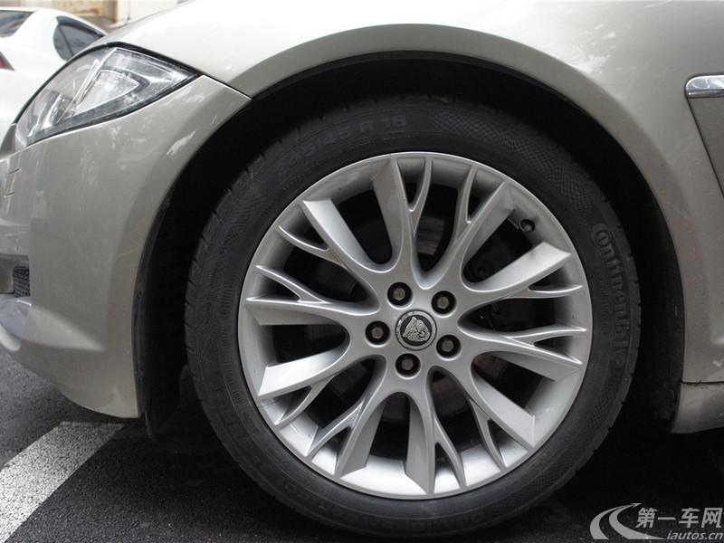 捷豹XF [进口] 2012款 3.0L 自动 豪华版