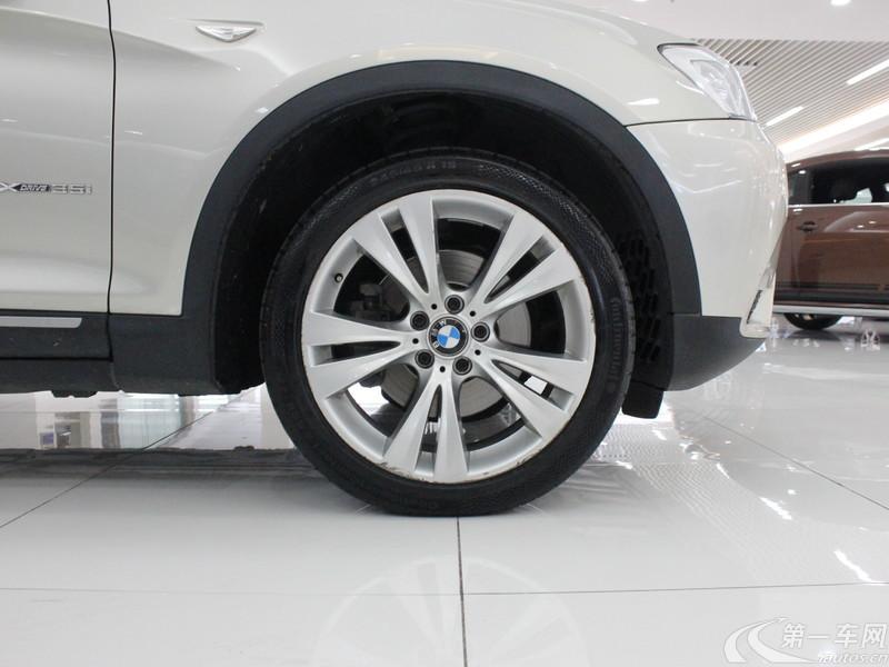 宝马X3 [进口] 2011款 3.0T 自动 四驱 汽油 豪华型 (欧Ⅳ)