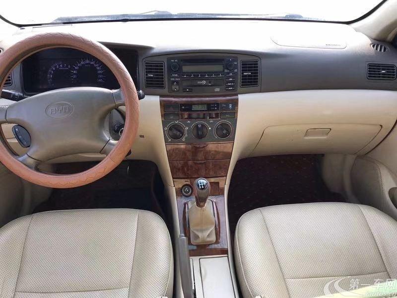 比亚迪F3 新白金版 2008款 1.5L 手动 豪华型 (国Ⅳ)