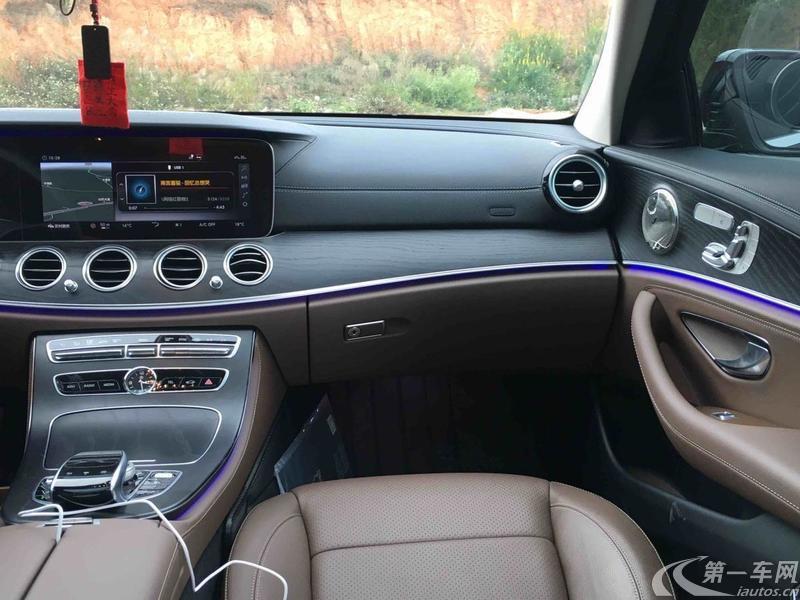 奔驰E级 E300L 2019款 2.0T 自动 汽油 豪华型 (国Ⅵ)