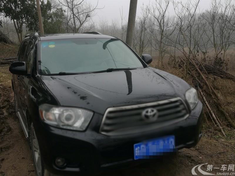 丰田汉兰达 2011款 2.7L 自动 前驱 豪华导航版 (国Ⅳ)
