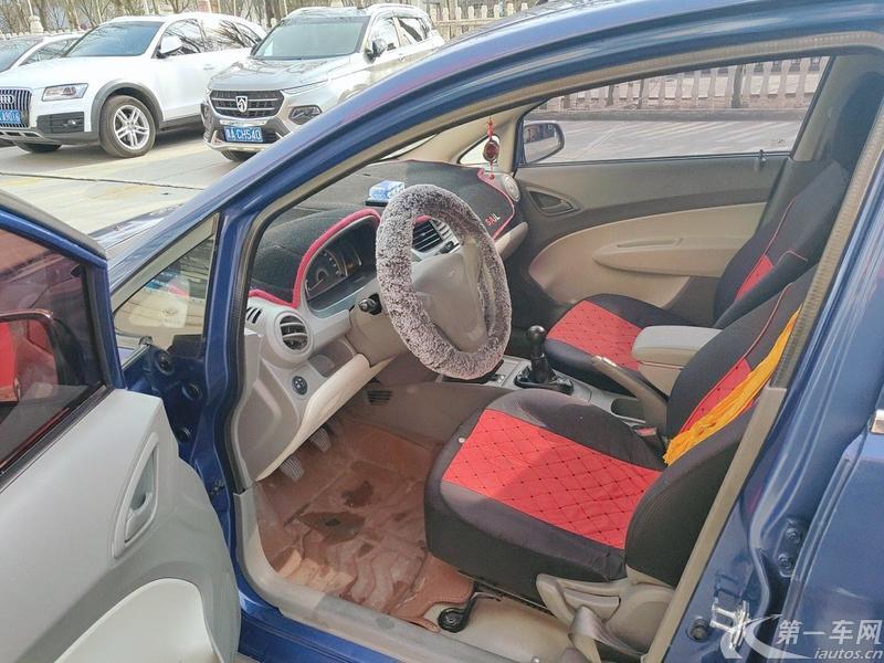 雪佛兰赛欧 2013款 1.4L 手动 4门5座三厢车 理想幸福版 (国Ⅳ)