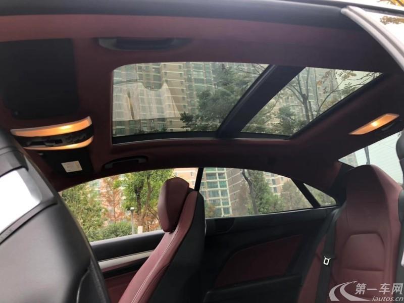 奔驰E级Coupe E260 [进口] 2016款 2.0T 自动 灵动版轿跑