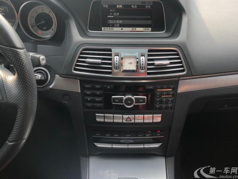 奔驰E级Coupe E200 [进口] 2014款 2.0T 自动 (欧Ⅴ)
