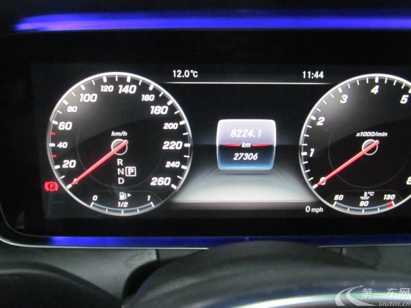奔驰E级 E300 2017款 2.0T 自动 汽油 运动型 (国Ⅴ)
