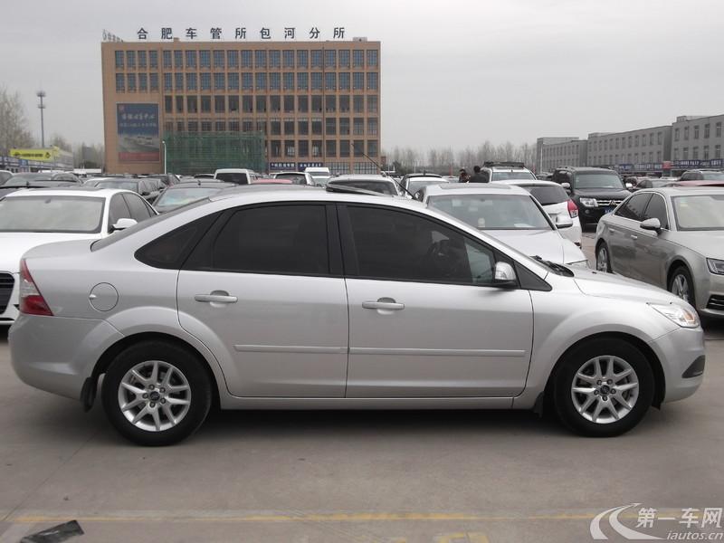 福特福克斯 2012款 1.8L 手动 三厢轿车 经典时尚型 (国Ⅳ)