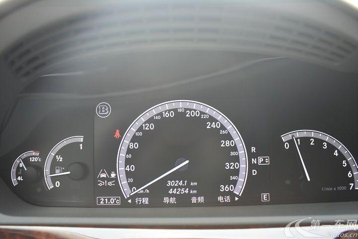 巴博斯S级 [进口] 2011款 5.5T 自动