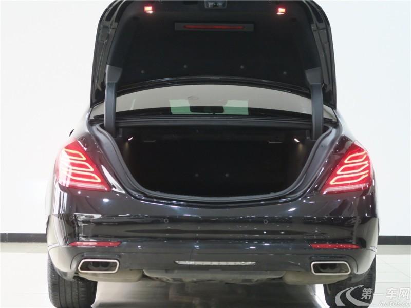 奔驰S级 S320 [进口] 2016款 3.0T 自动 汽油 商务型加长版 (欧Ⅴ)