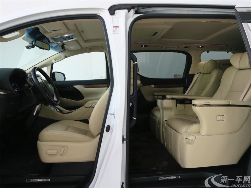 丰田埃尔法 [进口] 2017款 3.5L 自动 7座 Executive欧规版平行进口 (欧Ⅴ)