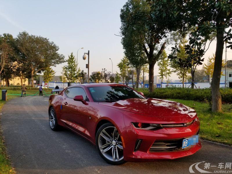 雪佛兰科迈罗 [进口] 2017款 2.0T 自动 RS加规版平行进口 (欧Ⅴ)