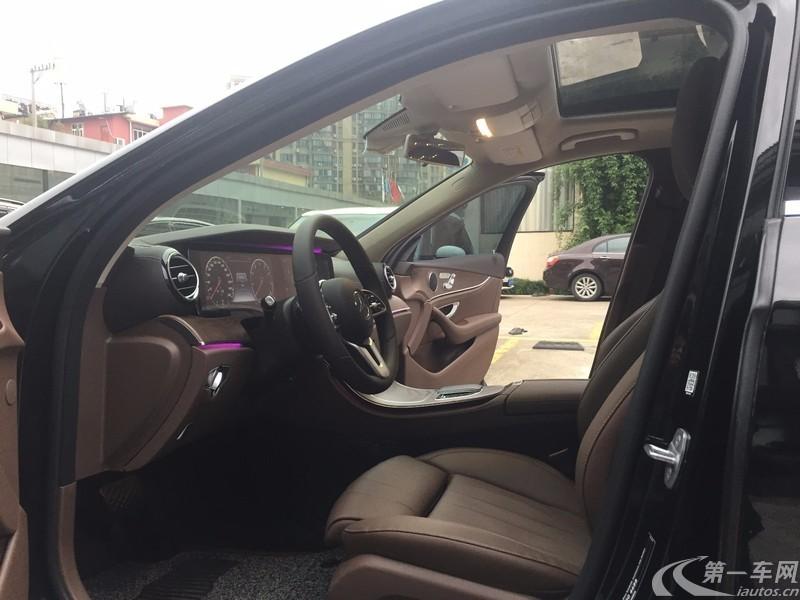 奔驰E级 E200L 2019款 2.0T 自动 汽油 (国Ⅵ)