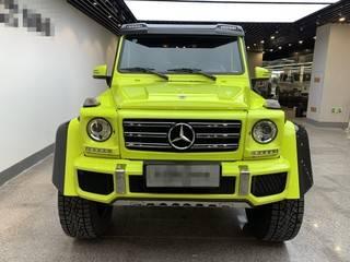 奔驰G级 G500 4.0T 自动 中东版平行进口