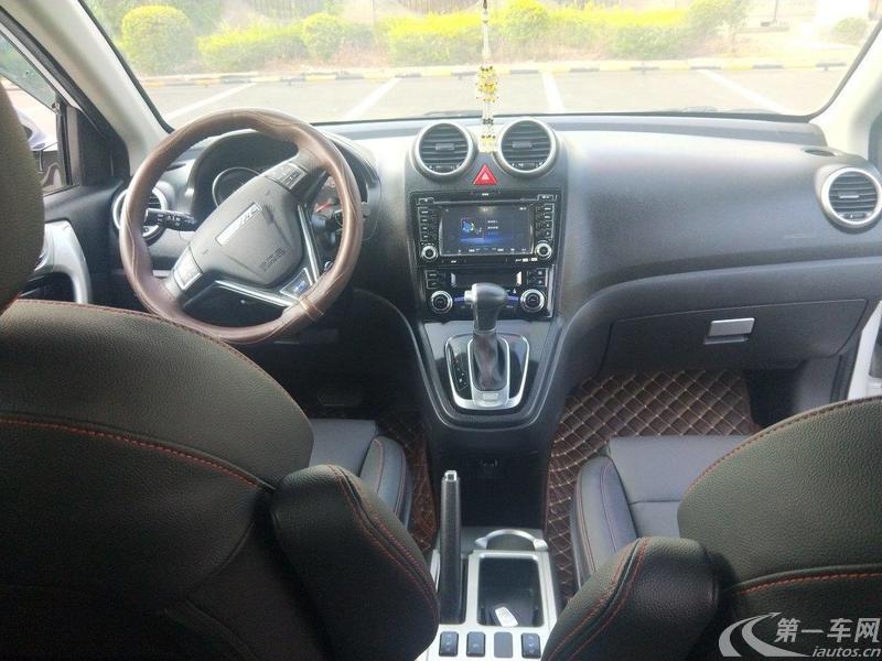 长城哈弗H6 蓝标 2017款 1.5T 自动 前驱 改款运动版豪华型 (国Ⅴ)