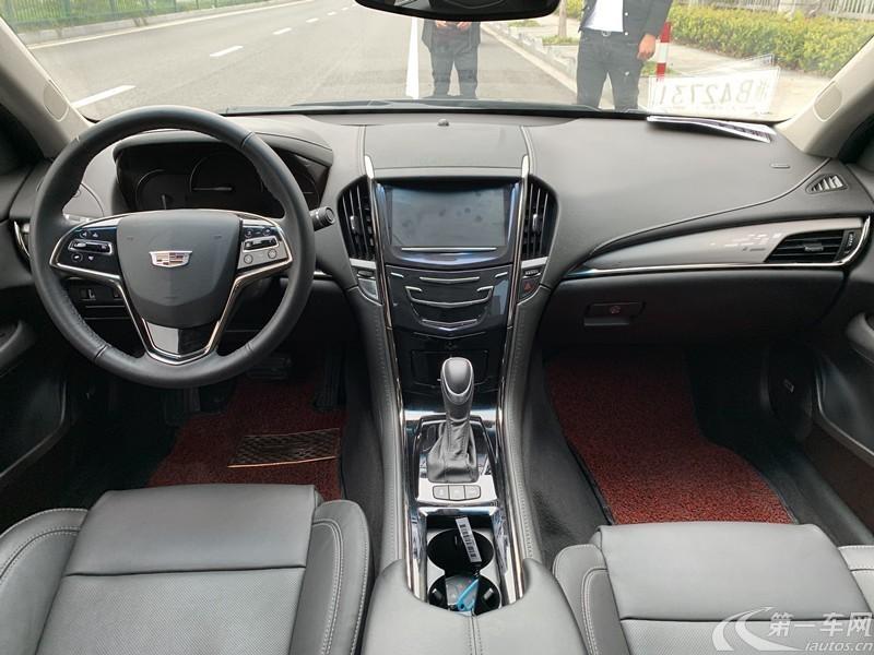凯迪拉克ATS-L 2017款 2.0T 自动 28T时尚型 (国Ⅴ)