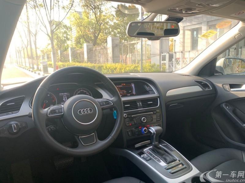 奥迪A4L 2016款 1.8T 自动 舒适型典藏版 (国Ⅴ)