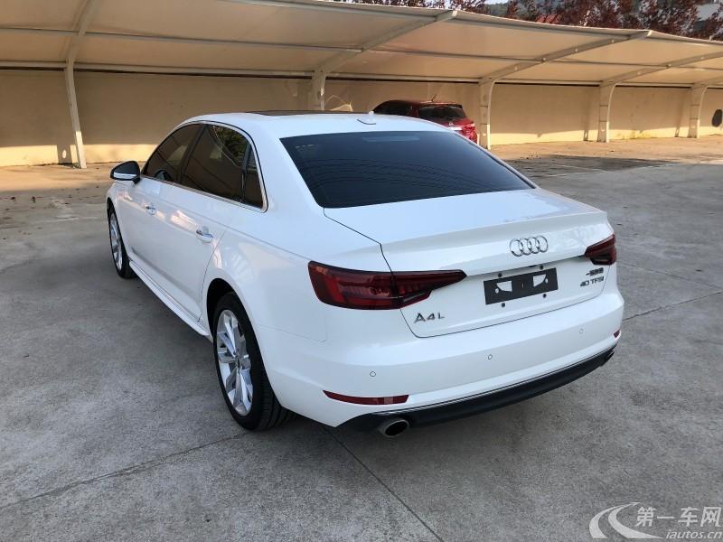 奥迪A4L 2019款 2.0T 自动 运动型 (国Ⅵ)