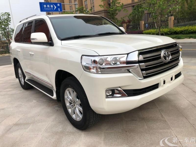 丰田兰德酷路泽 2016款 4.0L 自动 四驱 VX (国Ⅴ)