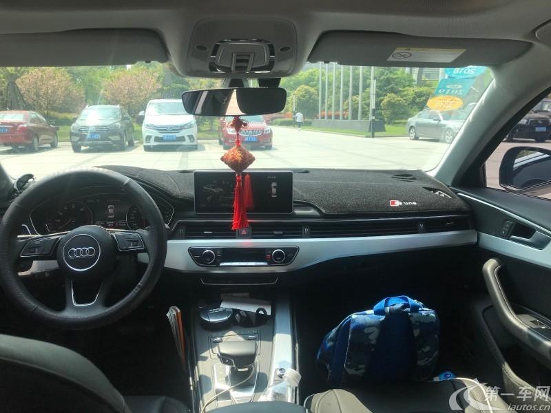 奥迪A4L 2017款 2.0T 自动 风尚型 (国Ⅴ)