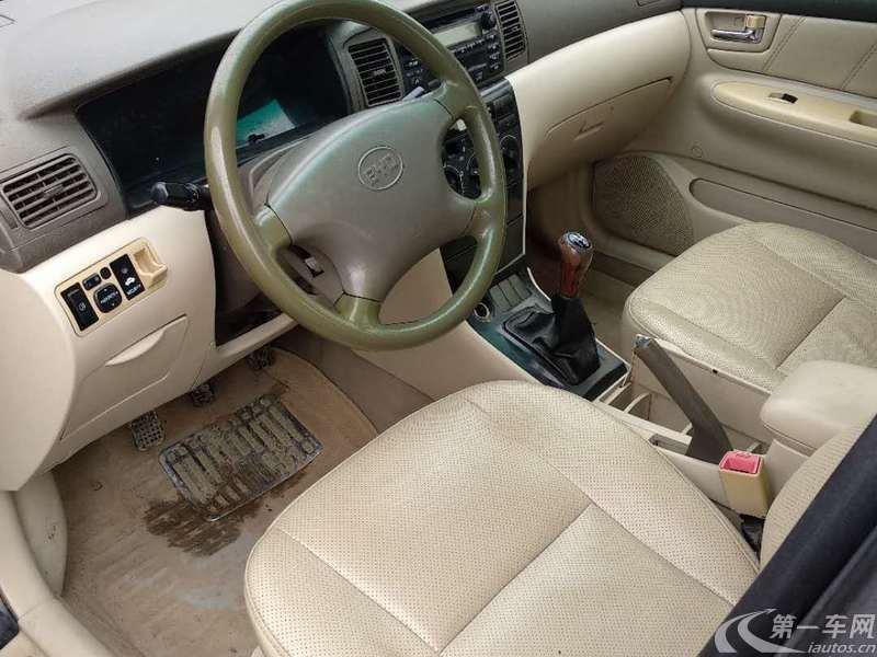 比亚迪F3 白金版 2010款 1.5L 手动 GLX-i豪华型 (国Ⅳ)