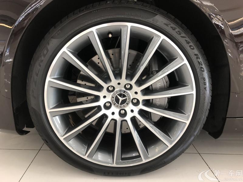 奔驰S级 S450L [进口] 2019款 3.0T 自动 汽油 4MATIC