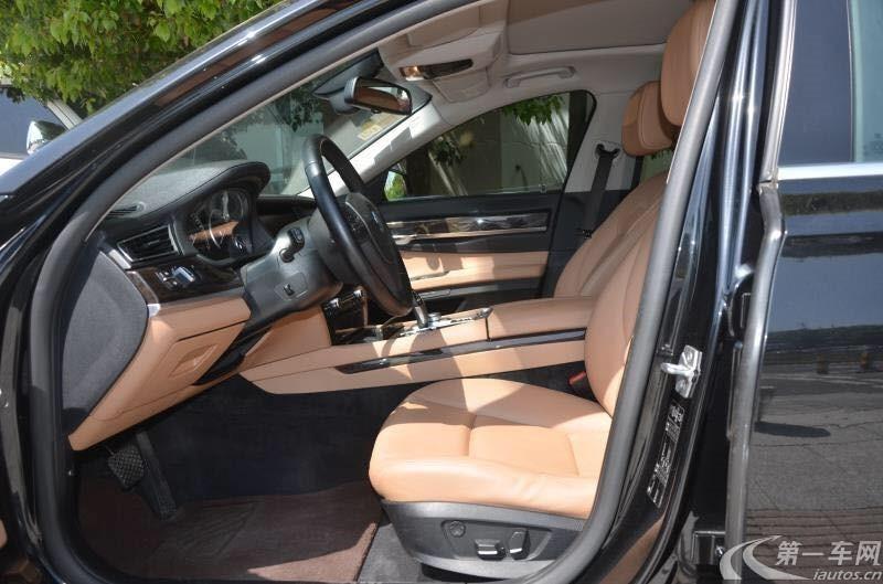 宝马7系 740Li [进口] 2010款 3.0L 自动 汽油 豪华悦世版