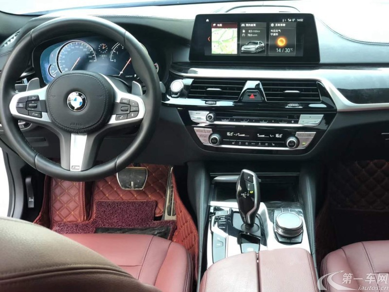 宝马5系 530Li 2018款 2.0T 自动 汽油 领先型M运动套装 (国Ⅴ)