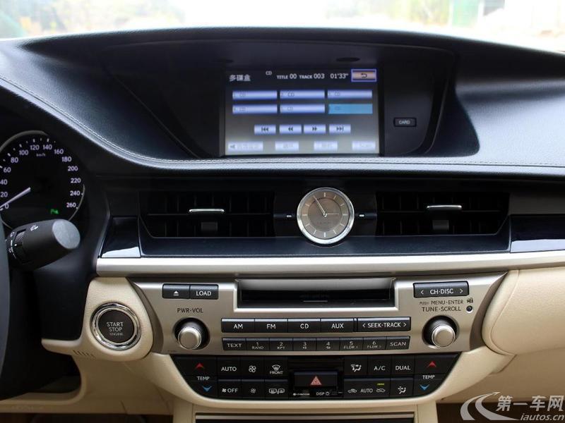 雷克萨斯ES 250 [进口] 2014款 2.5L 自动 精英版 (欧Ⅳ)