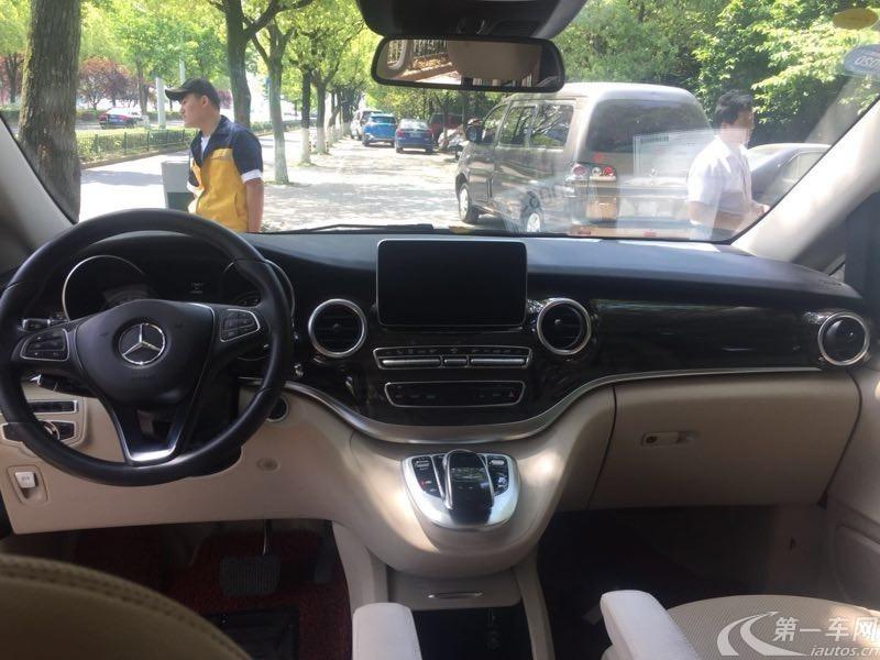 奔驰V级 2016款 2.0T 自动 V260领航版 (国Ⅴ)