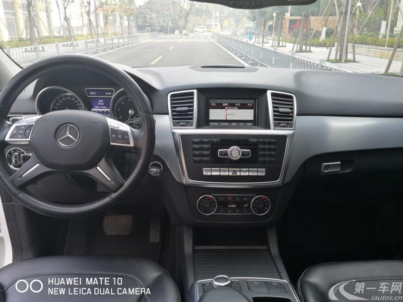 奔驰M级 ML320 [进口] 2014款 3.0T 自动 汽油 (欧Ⅳ)