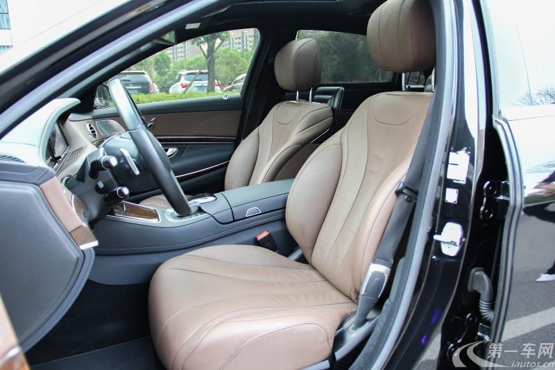 奔驰S级 S320 [进口] 2014款 3.0T 自动 汽油 豪华型加长版 (欧Ⅴ)