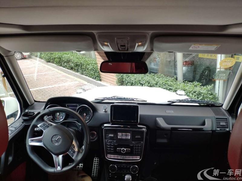 奔驰G级 G500 [进口] 2017款 4.0T 自动 汽油 卓越版