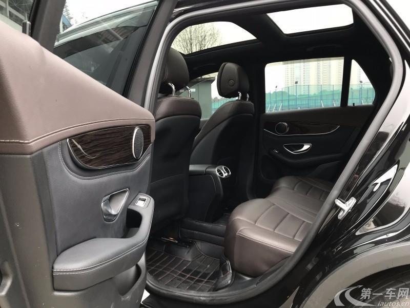 奔驰GLC GLC260 2018款 2.0T 自动 改款豪华型 (国Ⅴ)