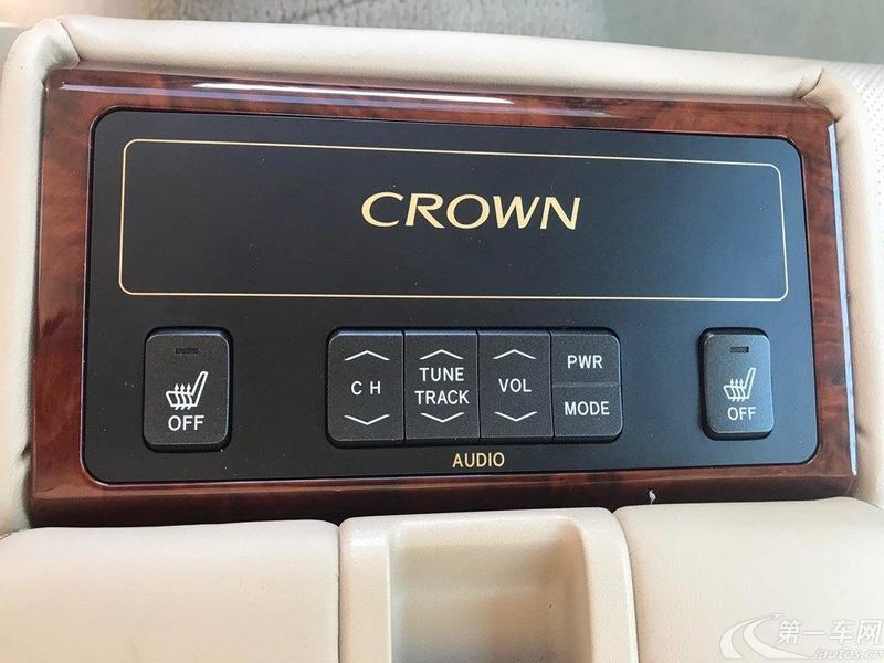 丰田皇冠 2012款 2.5L 自动 Royal真皮版 (国Ⅴ)