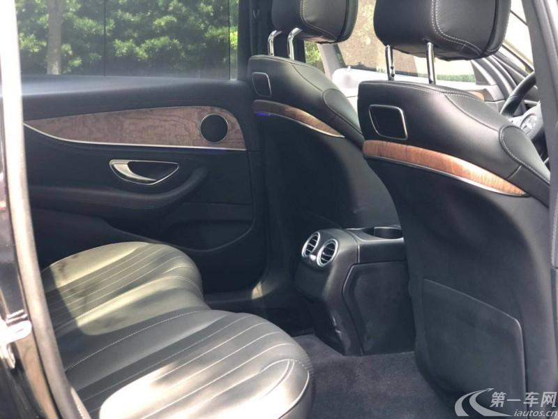 奔驰E级 E300L 2017款 2.0T 自动 汽油 豪华型 (国Ⅴ)