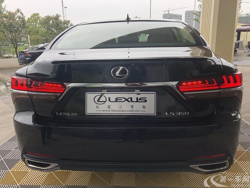 雷克萨斯LS 350 [进口] 2018款 3.5L 自动 卓越版