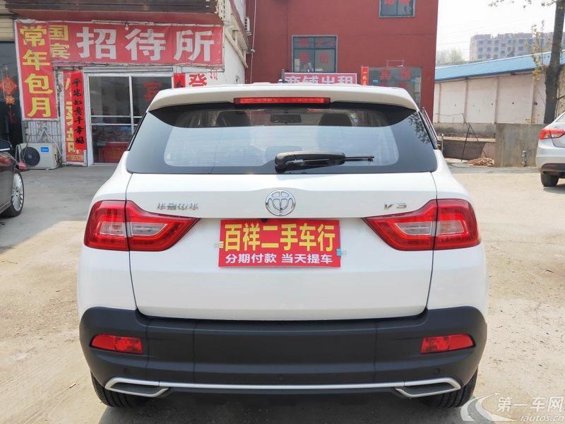 中华V3 2017款 1.5L 自动 智能型 (国Ⅴ)