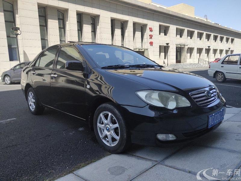 比亚迪F3 新白金版 2008款 1.5L 手动 旗舰型 (国Ⅳ)