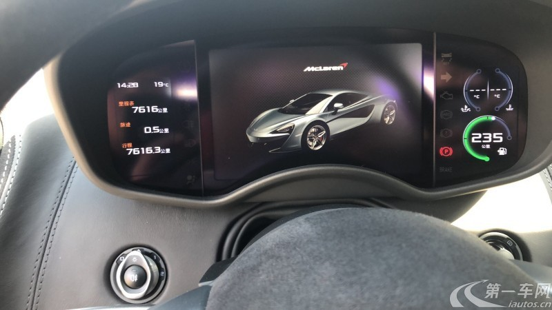 迈凯伦570S [进口] 2016款 3.8T 自动 Coupe欧规版平行进口