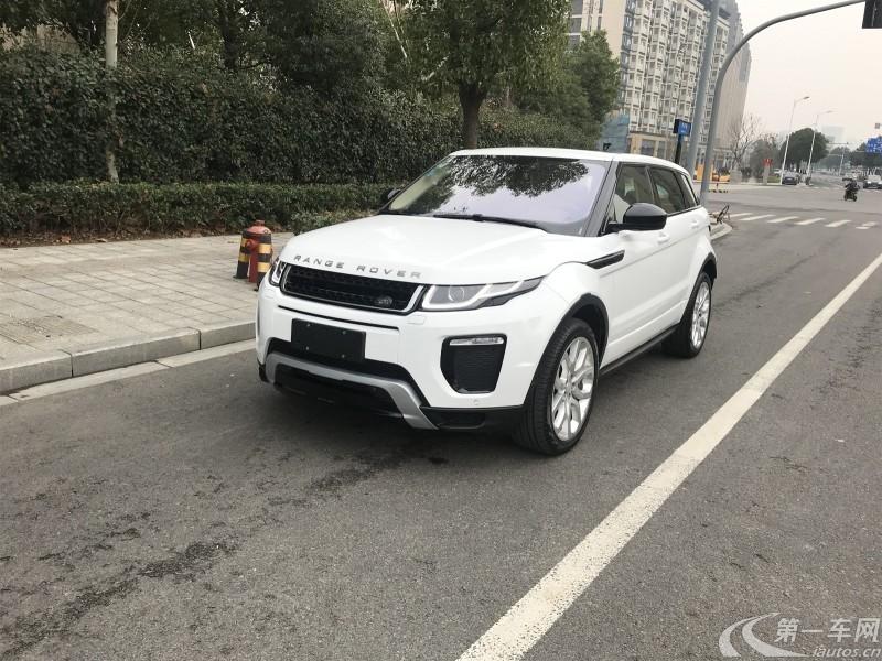 路虎揽胜极光 2018款 2.0T 自动 PURE风尚版 (国Ⅴ)