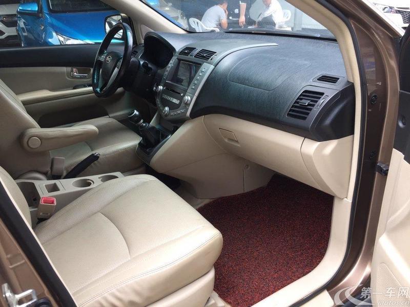 比亚迪S6 白金版 2013款 2.4L 手动 前驱 豪华型 (国Ⅳ)