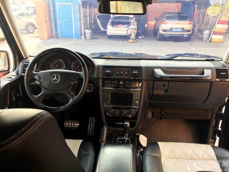 奔驰G级 G500 [进口] 2010款 5.5L 自动 汽油 (欧Ⅳ)