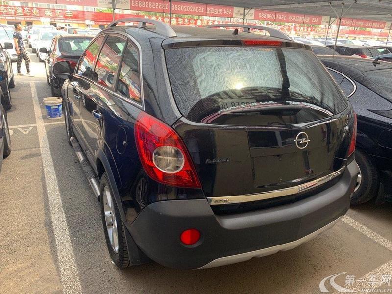 欧宝安德拉 [进口] 2011款 2.4L 自动 四驱 汽油 豪华型