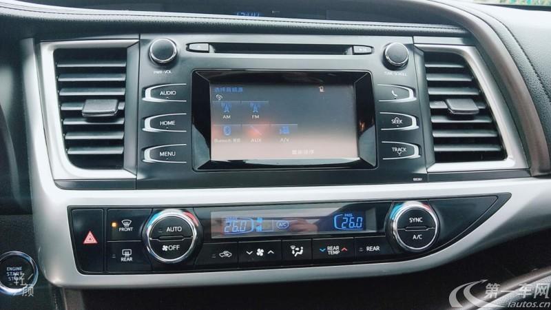 丰田汉兰达 2015款 2.0T 自动 四驱 精英版 (国Ⅴ)