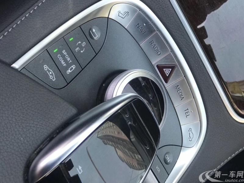 奔驰S级 S320 [进口] 2016款 3.0T 自动 汽油 豪华型加长版 (欧Ⅴ)