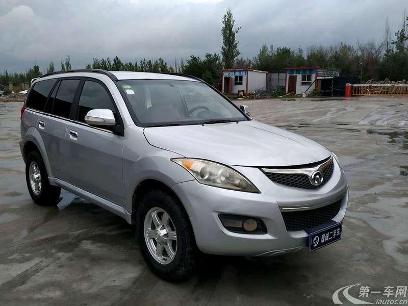 长城哈弗H5 2012款 2.4L 手动 四驱 舒适型 (国Ⅳ)