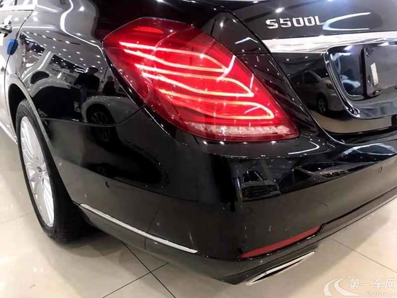 奔驰S级 S500 [进口] 2016款 4.0T 自动 汽油 加长版 (欧Ⅴ)
