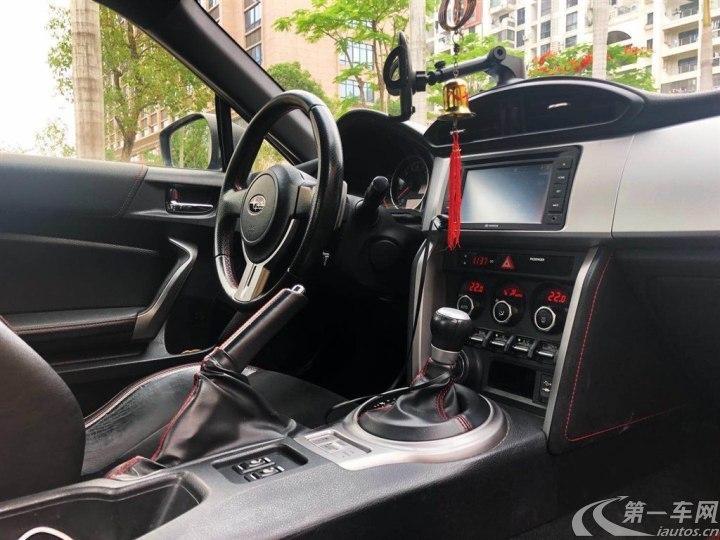 斯巴鲁BRZ [进口] 2013款 2.0L 自动 豪华型