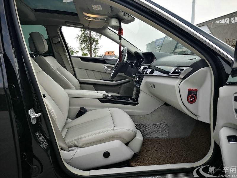 奔驰E级 E260L 2013款 1.8T 自动 汽油 时尚型 (国Ⅳ)
