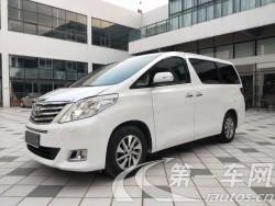 丰田埃尔法 [进口] 2012款 3.5L 自动 7座 豪华版